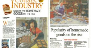 Popularity of homemade goods on the rise